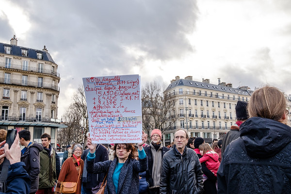 Rassemblement contre la corruption - 05/03/2017 Paris