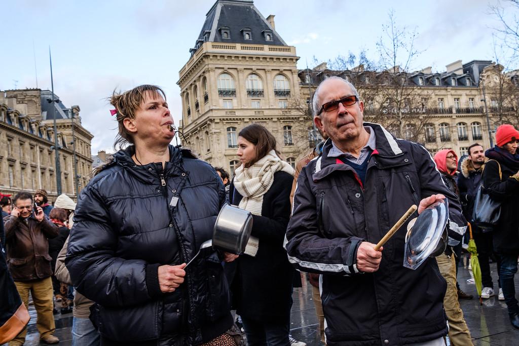Rassemblement contre la corruption - 05/03/2017 Paris