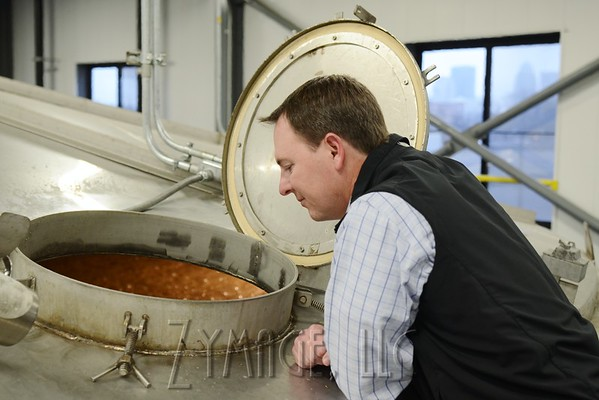 Denny Potter of Heaven Hill Distilleries, December 9, 2014. Louisville, KY. Photo by Jacob Zimmer, Zymage, LLC.
