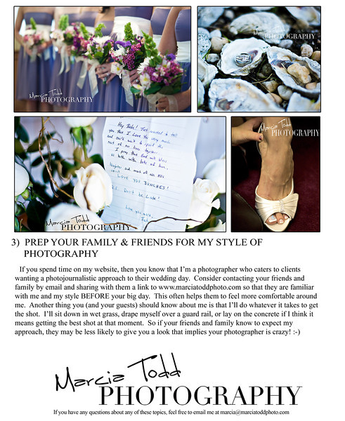 WEDDING TIPS pg2