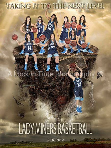 Lady Miners basketball