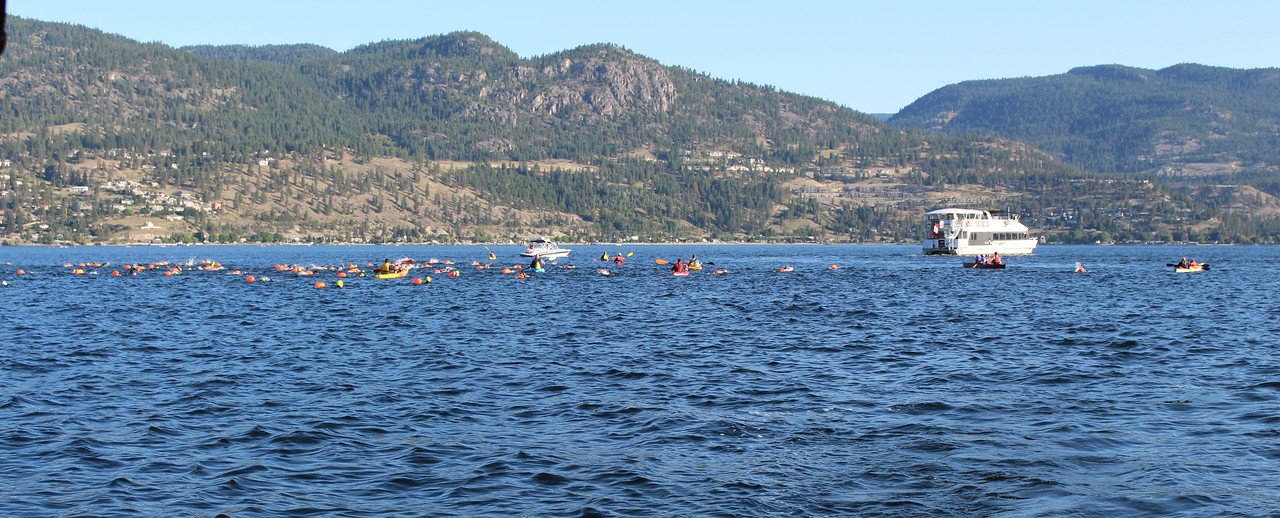 Rattlesnake Island Swim, Aug 6 '16.
