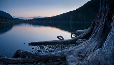 Sunset at Rattlesnake Lake