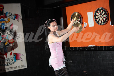 Rachel Riot's Burlesque Show at The Black Cat Lounge on Thursday, July 14th, 2011.