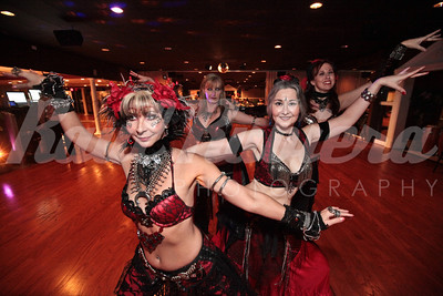 Vampire Masquerade players at the Toreador's Ball held in Roland's Dance Studio on Saturday, September 11th, 2010. ©2010 Raul Rubiera