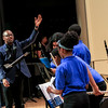 Westover Middle School Concert Band performs at the Music Alumni Concert at Fayetteville State University's Seabrook Auditorium on Friday, March 2, 2018.