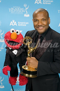 Kevin Clash of Sesame Street  on  PBS, winner for Outstanding Performer In A Children's Series at the 34th Annual Daytime Entertainment Emmy Awards