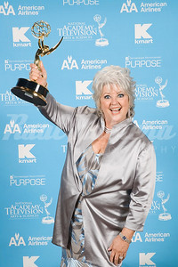 Paula Deen of Paula's Home Cooking  on  Food, Winner for Outstanding Lifestyle Host at the 2007 Daytime Creative Arts and Entertainment EMMY Awards