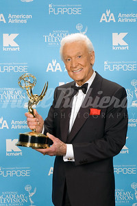Bob Barker of The Price Is Right  on  CBS, winner for Outstanding Game Show Host at the 34th Annual Daytime Entertainment Emmy Awards