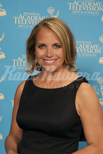 Katie Couric presents  at The 28th Annual Emmy Awards for News & Documentary.