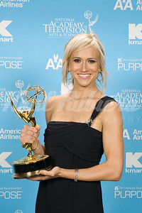 Jennifer Landon of As the World Turns  on  CBS, winner for Outstanding Younger Actress In A Drama Series at the 34th Annual Daytime Entertainment Emmy Awards