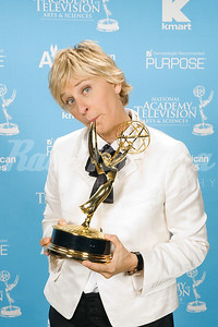 Ellen DeGeneres, winner for Outstanding Talk Show Host at the 34th Annual Daytime Entertainment Emmy Awards