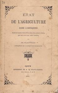 Etat De L'Agriculture