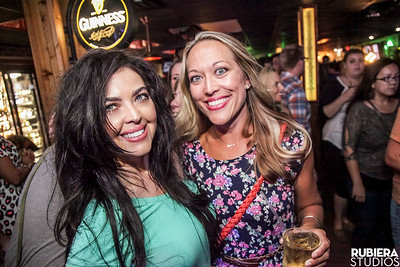 Chesney Wilson and Brandi Bronson at the Paddy's Pub grand re-opening celebration on Wednesday, September 7, 2016.