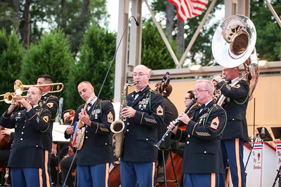 "The Fayetteville Symphony Orchestra and the Army Ground Forces Band of Ft. Bragg present their second annual free ""Symphonic Salute to the U.S. Armed Forces"" concert at Festival Park in Fayetteville, NC on Sunday, March 25th, 2014. Symphony_&_Armed_Forces_0014.JPG"