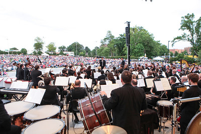 "The Fayetteville Symphony Orchestra and the Army Ground Forces Band of Ft. Bragg present their second annual free ""Symphonic Salute to the U.S. Armed Forces"" concert at Festival Park in Fayetteville, NC on Sunday, March 25th, 2014. Symphony_&_Armed_Forces_0008.JPG"