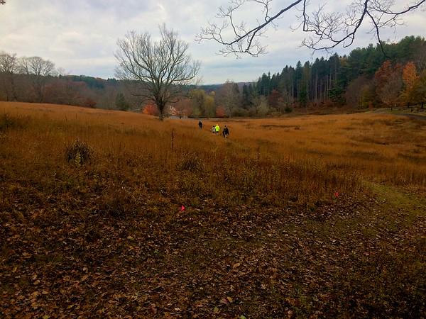 November 1, 2015 - Course Check of Raven Rocks Run