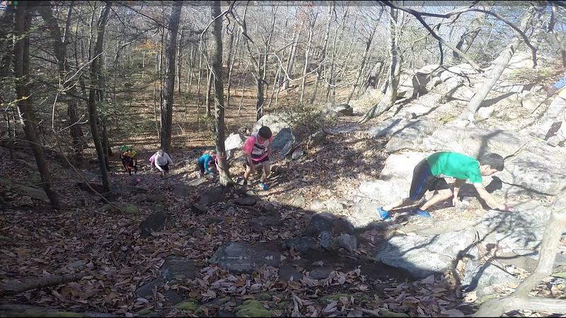 Chris Reinke - GoPro Video of Blue Trail Climb