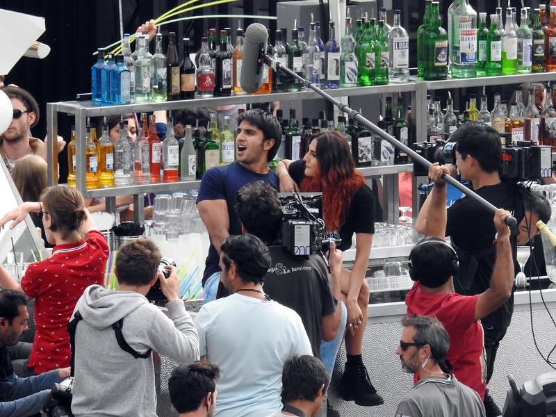 Raveen Singh,Vaani Kapoor seen in Paris.
