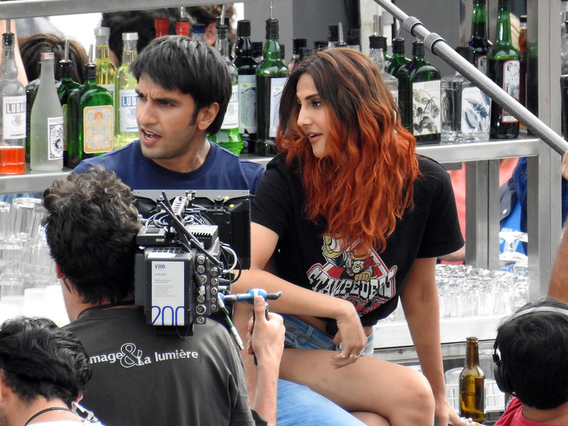 Raveen Singh,Vaani Kapoor seen in Paris.