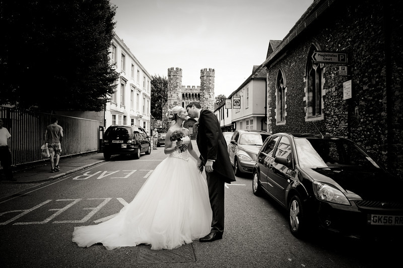 """Ben & Ella Trott Canterbury, England  """"WOW!! would probably be a good place to start! Truly beautiful photographs that serve as testimony to the brilliance of Yaggi Photography.  We have a perfect mix of natural images capturing beaming smiles, emotional glances and every essence of our day alongside traditional wedding party poses with a creative 'Yaggi twist' that will be treasured by us and our families forever.  The talent of Sarah is clearly evident in every photograph - inspired, inventive, contemporary and stylish whilst being timeless and classic.     As one of the nicest people you could wish to share your wedding day with,  Sarah integrated with ease amongst our guests, taking our photographs without ever disturbing the day. She worked so hard from morning to night to ensure every special moment was secured on film, nothing was too much trouble and I can't thank you enough for the opportunity to relive our day whenever we want.  When our memories are fading and our skin is old and wrinkly we will always have our Yaggi photographs to look back on with great fondness.   We would have absolutely no hesitation in strongly recommending Yaggi Photography to anyone.  Our guests totally loved Sarah, as did we, and we know everyone else will too."""""""