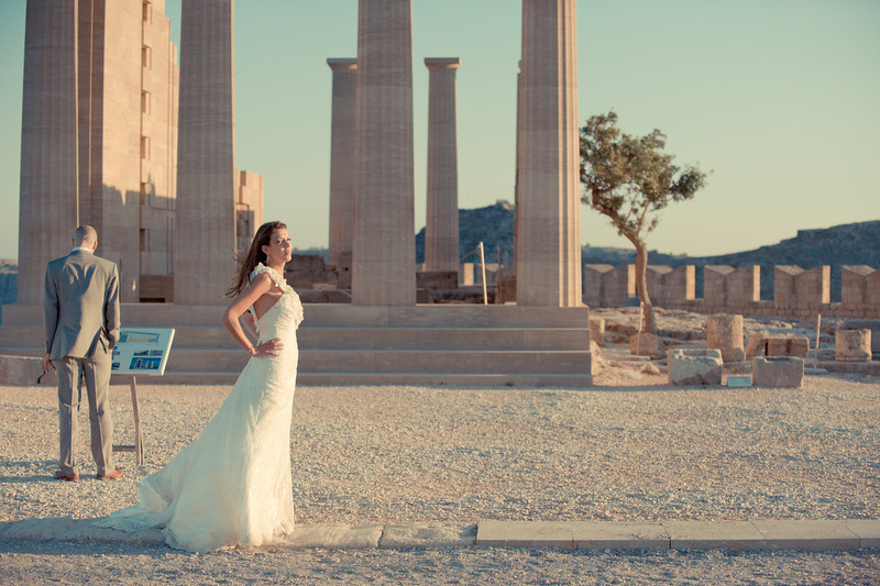 """Jamie & Sabina Marriott Rhodes, Greece  """"We feel so so lucky to have been introduced to Yaggi photography and have such amazing photographers for our wedding day! Sarah and Brent are the nicest people you could meet, but still remained professional throughout and did such a fantastic job. They came all the way out to Greece to shoot our big day and integrated themselves so much with everyone that they were able to get the perfect shots. They are full of creativity and helped us to achieve photos that were better than we could have ever hoped for! If you're looking for photographers that are imaginative, talented and fun, then you've come to the right place!"""""""