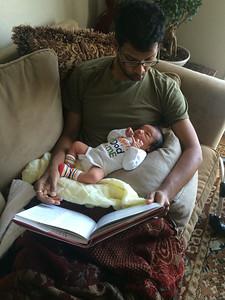Reading to Ravi