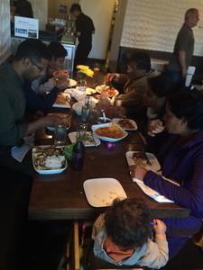Family dinner at Osha