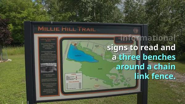 Millie Hill & Bat Cave Iron Mountain Michigan