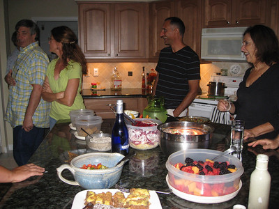 August 25th, 2010 - Raw Foods Get Together @ Karen's
