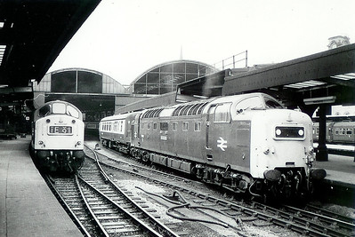 55 018 at Newcastle