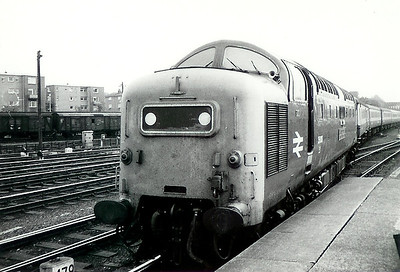 55 0XX at York on 10th July 1976