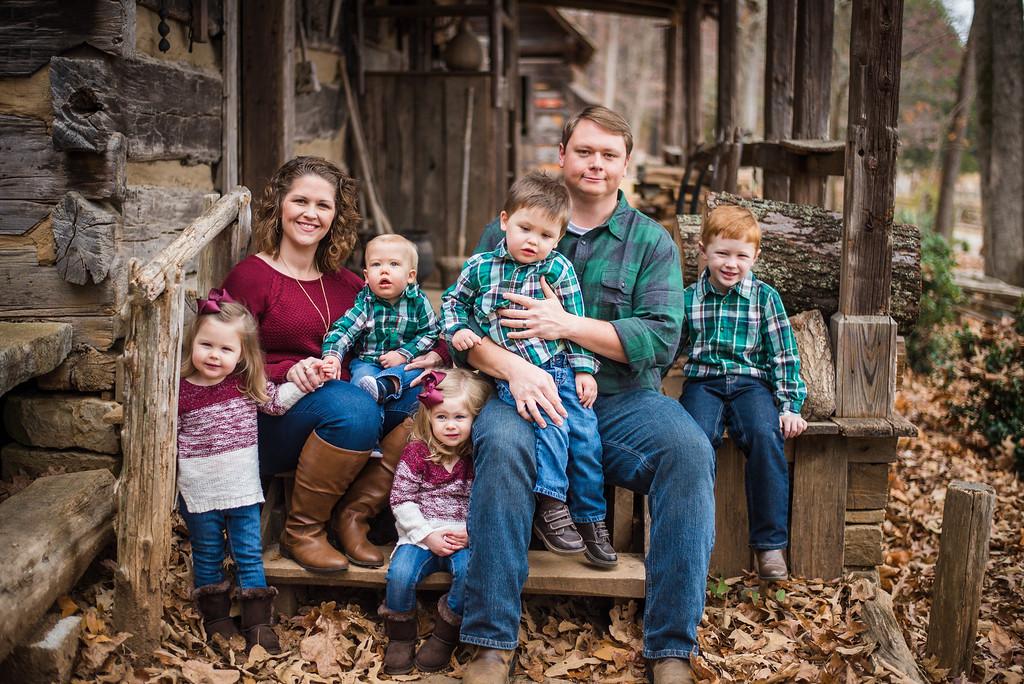 Ray Family: Fall 2016