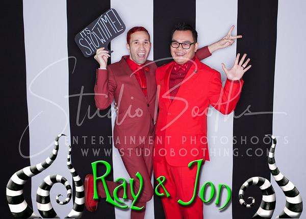 Ray and Jon's Beetlejuice Wedding