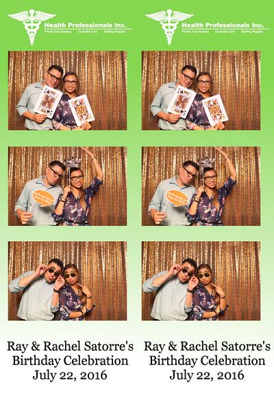 Ray & Rachel Satorre's Birthday Celebration  |  07.22.16