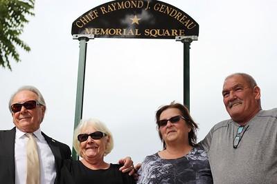Raymond J. Gendreau Square in Dracut - September 20, 2018