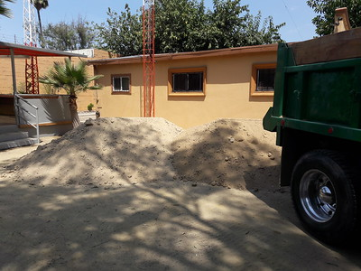 14 cubic meters of dirt