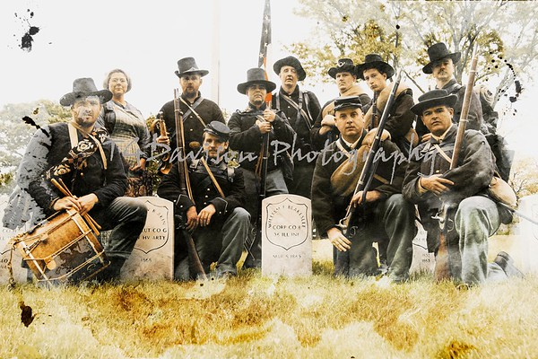 "Co. ""B"" Illinois Infantry Root Street Cemetery Re-Dedication 2017"