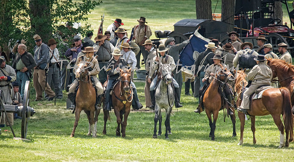 Elgin Civil War Days  Sunday Battle 2017