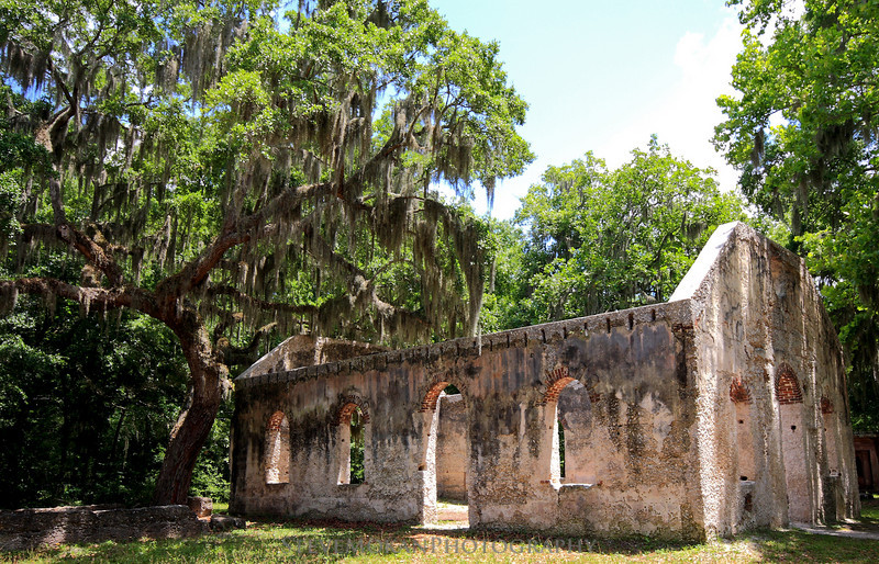 The Chapel of Ease is magical in its own way.  It definitely has that lowcountry feeling, and oozes history.