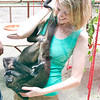 And yes, we got to play with monkeys!  Two at a time!