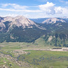This view awaits as we summitted Mt. Crested Butte.
