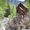 """The famous Crystal Mill.  It was actually a compressor station for the old Lost Horse Mill, but it has adopted the """"Mill"""" name over the years."""