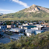 Only a block from our rental apartment, this lookout was perfect for getting a perspective of town and Mt. Crested Butte.