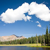 Kissing clouds at Copley Lake.
