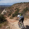 Dropping into Western Rim... one of the most scenic singletrack around.