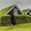 Turf-covered houses are everywhere in Iceland; these are over a couple hundred years old.