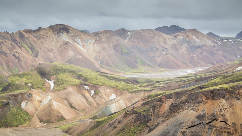 On Day 8, Sarah and I drove north to Landmannalaugar, an area in the Highlands that is the original reason I wanted to travel to Iceland.  I had seen a feature in Bike Magazine 4-5 years ago of this landscape, and knew I had to see it in person.