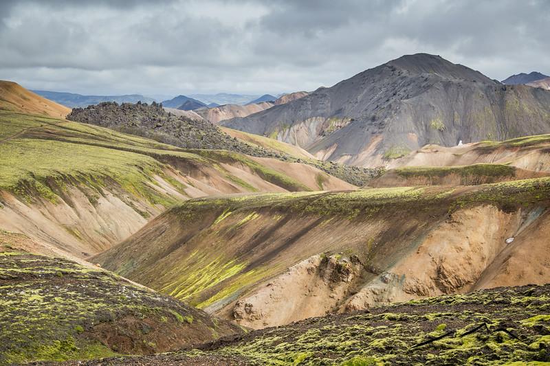 More beautiful landscape from Landmannalaugar.