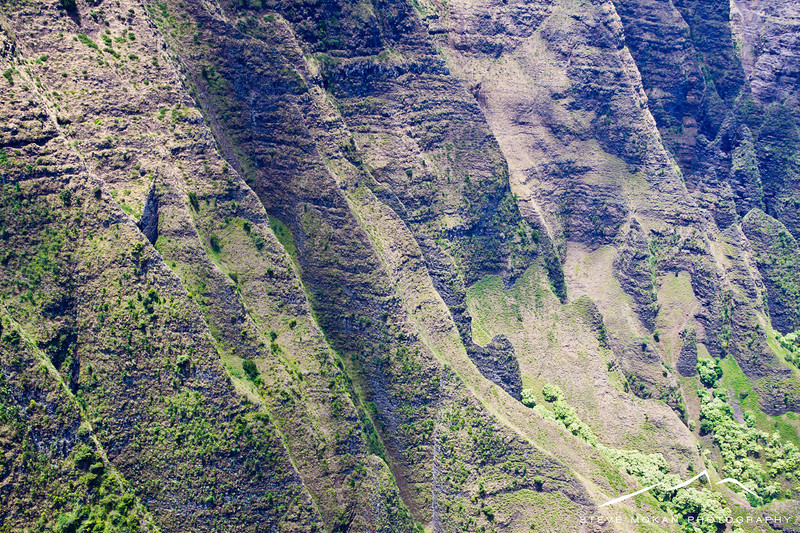 Yes, the ridges shown here are as steep as they look.
